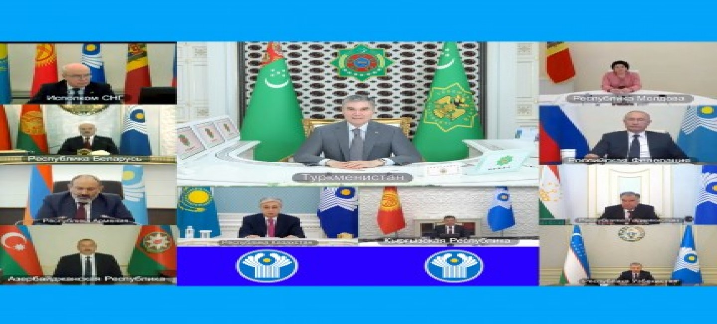 """PRESIDENT OF TURKMENISTAN: """"IT IS NECESSARY TO RETURN RESPECT FOR THE LAW, THE CULTURE OF DIALOGUE, TRUST AND PREDICTABILITY IN RELATIONS BETWEEN STATES TO THE WORLD POLITICS"""""""