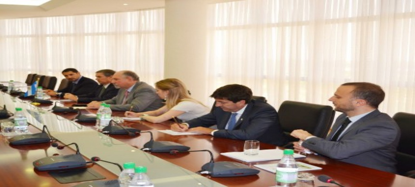TURKMEN-ARGENTINE COOPERATION ISSUES WERE DISCUSSED IN THE MINISTRY OF FOREIGN AFFAIRS