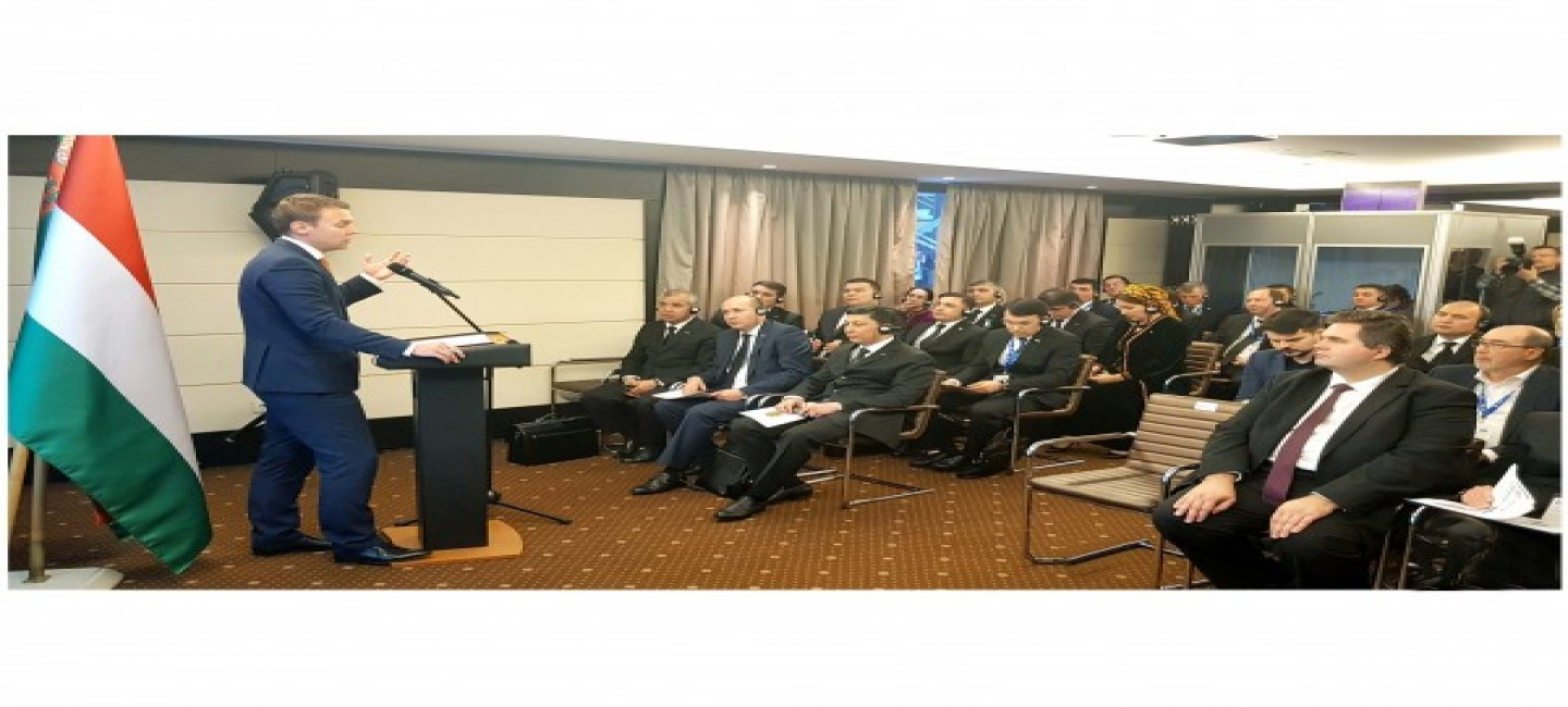 THE TURKMEN-HUNGARIAN BUSINESS FORUM WAS HELD IN BUDAPEST
