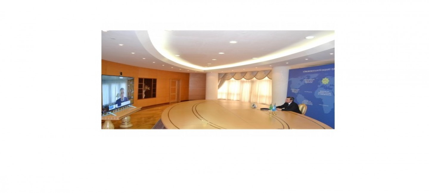 TURKMENISTAN IS COMMITTED TO EXPAND INTERACTION WITH THE UNHCR