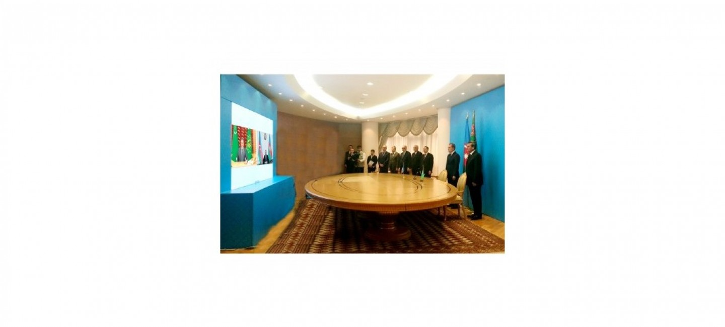 MEETING OF THE PRESIDENTS OF TURKMENISTAN AND AZERBAIJAN