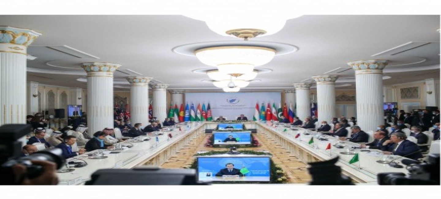TURKMENISTAN UNDERLINES SIGNIFICANCE OF CREATION OF SOLID ECONOMIC FOUNDATION FOR FURTHER ADVANCING THE PEACE PROCESS IN AFGHANISTAN