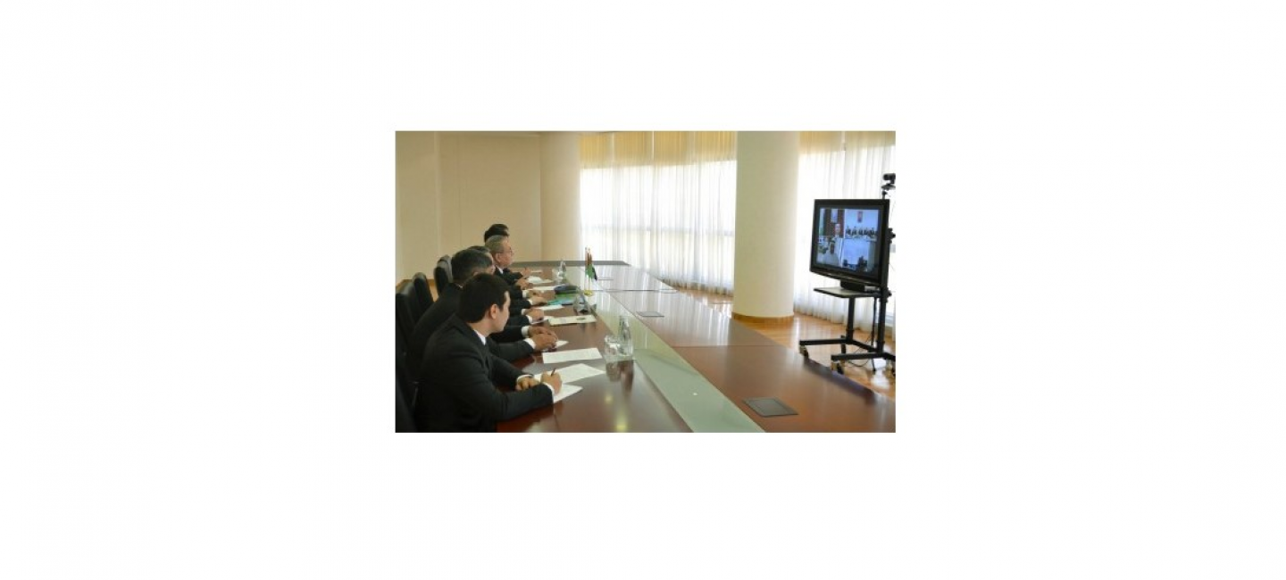 MEETING BETWEEN THE INSTITUTE OF STATE, LAW AND DEMOCRACY OF TURKMENISTAN WITH THE CENTER FOR STRATEGIC KNOWLEDGE AND RESEARCH OF THE UNITED ARAB EMIRATES
