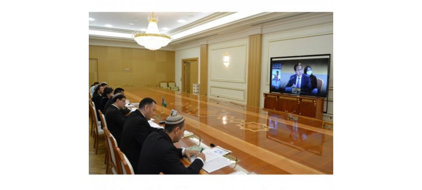 THE REGULAR MEETING OF THE TURKMEN-KOREAN BUSINESS COUNCIL