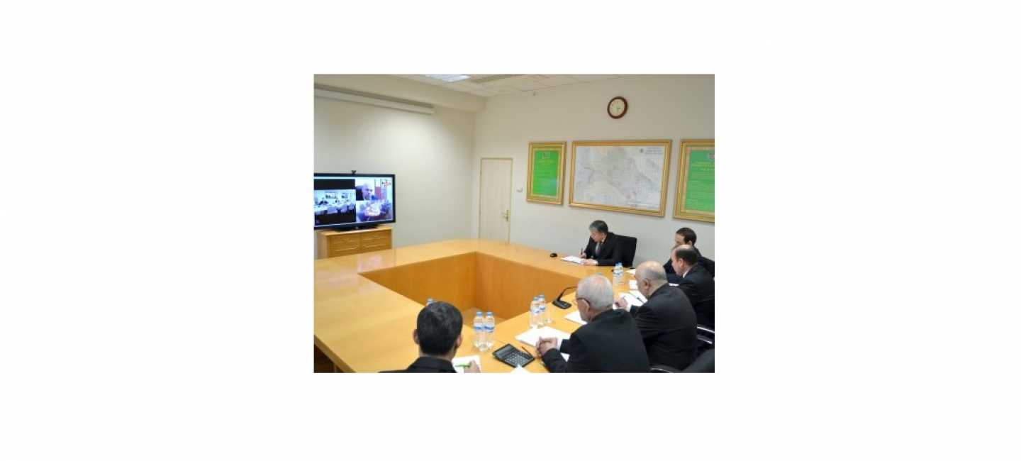 """A VIDEO CONFERENCE BETWEEN THE """"TURKMENNEBIT"""" CONCERN AND PUBLIC COMPANY """"TATNEFT"""""""