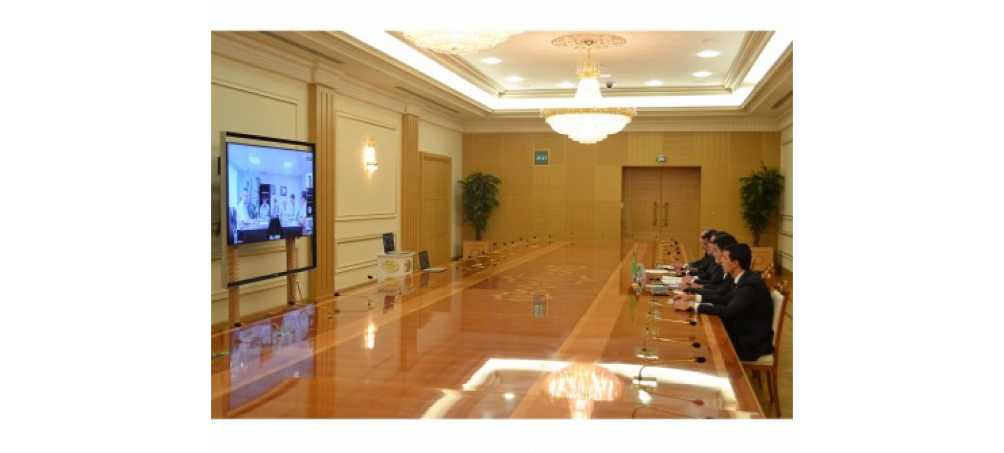 NEGOTIATIONS WERE HELD ON EXPORT-IMPORT OPPORTUNITIES OF TURKMENISTAN AND THE ASTRAKHAN REGION OF THE RUSSIAN FEDERATION