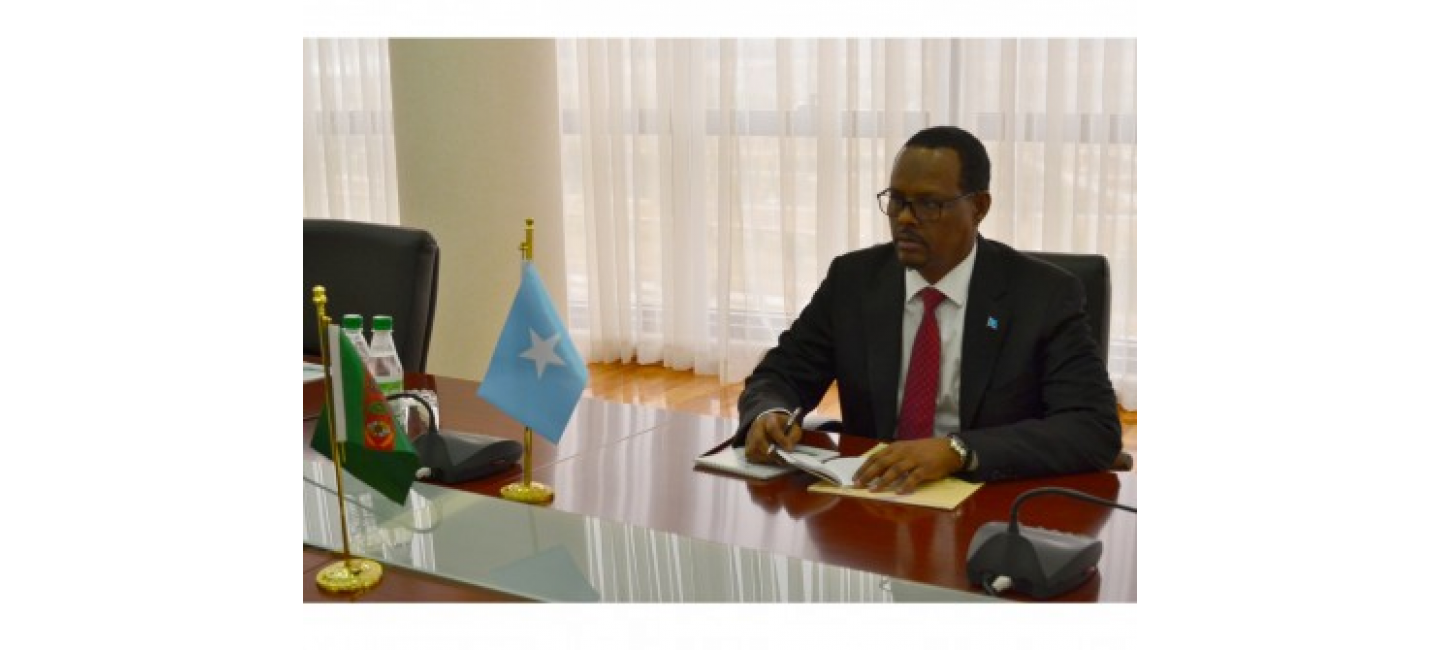 AMBASSADOR OF THE FEDERAL REPUBLIC OF SOMALIA ACCREDITED IN ASHGABAT