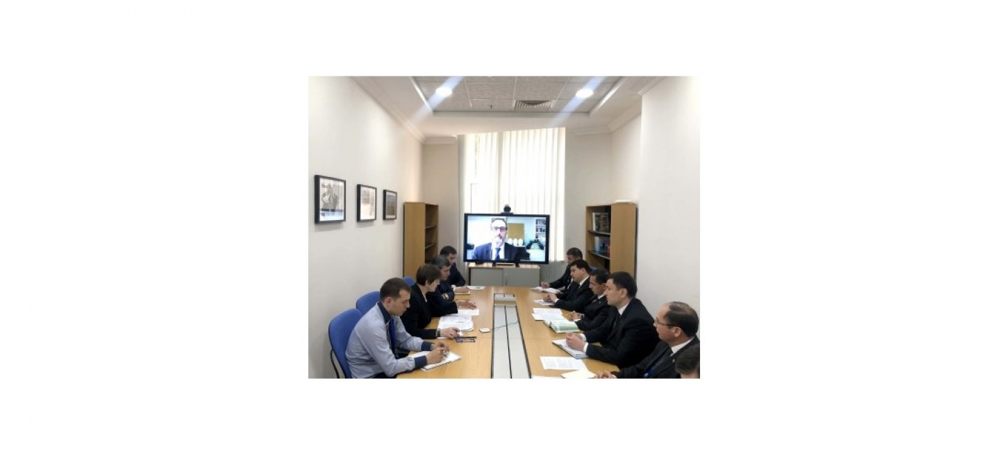 COOPERATION BETWEEN TURKMENISTAN AND THE WORLD BANK WAS DISCUSSED DURING THE VIDEO CONFERENCE MEETING