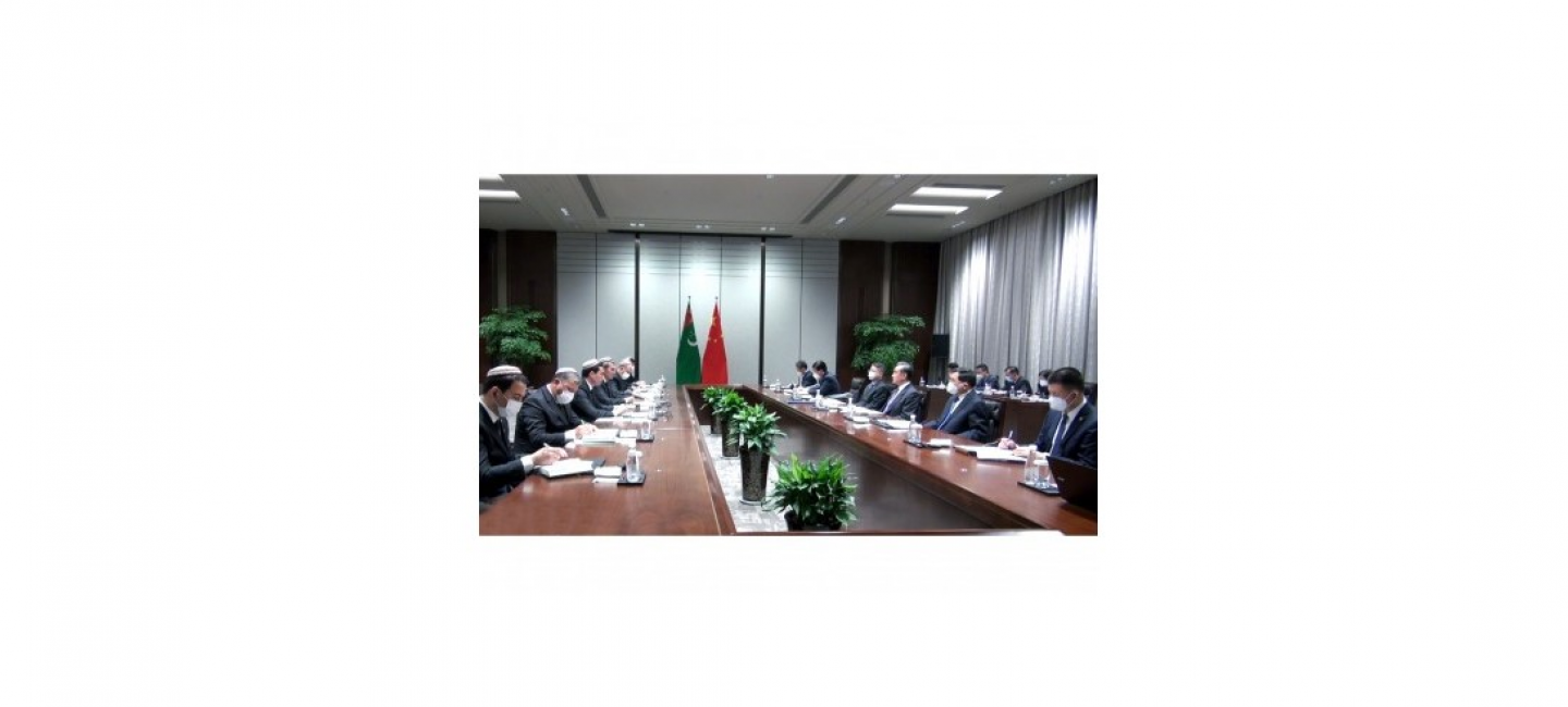 THE VISIT OF THE GOVERNMENTAL DELEGATION OF TURKMENISTAN TO THE PEOPLE'S REPUBLIC OF CHINA HAS STARTED